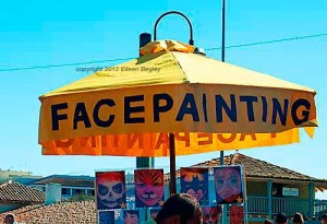 Face Painting - Fisherman's Whart in Monterey