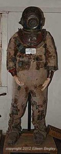 Early Dive Suit for Abalone Divers at Whalers Cabin Museum